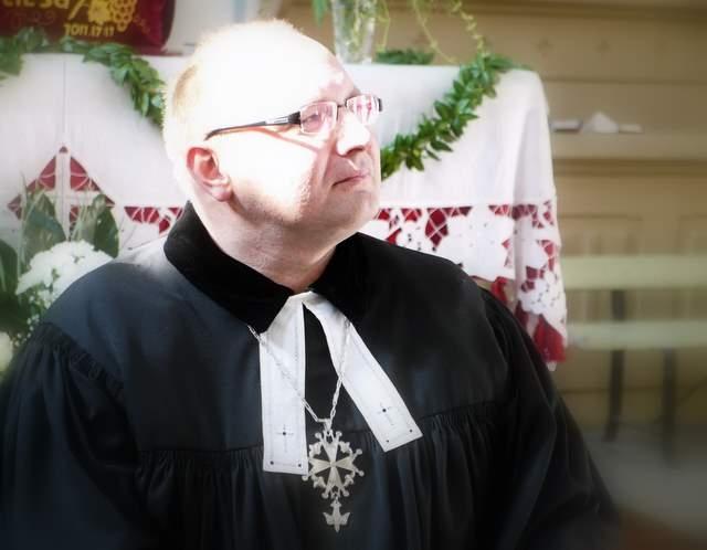 Kun.Tomas Šernas - Lietuvos evangelikų reformatų generalinis superintendentas